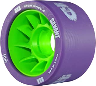 ATOM Savant Roller Derby Wheels - Ultra Light for Perfect Speed and Control Available in 88A-97A Pink, Blue, Purple, Black, Orange