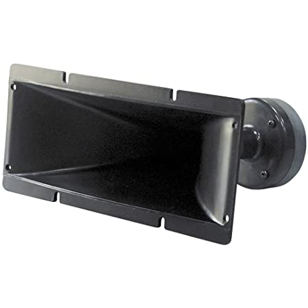 4x10 Inch Horn Tweeter Speaker - Heavy Duty 200 Watt High Power Horn Audio Tweeter System w/ 25mm Voice Coil, 20 Oz Magnet Structure, 102 dB, 8 Ohm Impedance - Pyle PH391