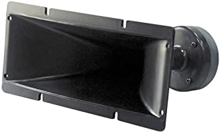 4x10 Inch Horn Tweeter Speaker - Heavy Duty 200 Watt High Power Horn Audio Tweeter System w/ 25mm Voice Coil, 20 Oz Magnet...