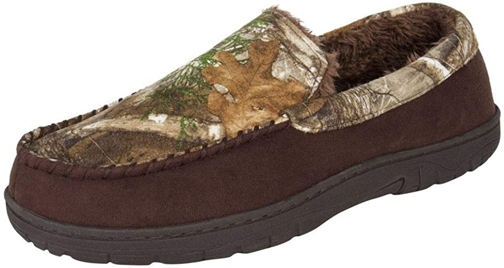 Credence Realtree Men's Memory Foam Camo House Ou Credence Slipper Moccasin Indoor