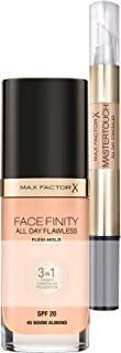 Max Factor Bundle Facefinity 45 e Correttore, Fondotinta - 45 Warm Almond e Correttore - 306 Fair