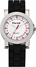 Forté 24 Hour Quartz Army Watch 1039M24-PW12TDS for Smaller Wrists - with Real 24-Hour Movement