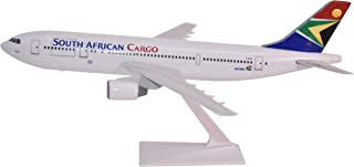 South African Cargo A300B2 Airplane Miniature Model Plastic Snap-Fit 1:200 Part# AAB-30000H-014