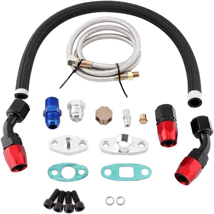 Acouto Turbo Oil Feed Surprise price Drain Brand Cheap Sale Venue Kit Line Turbocharger