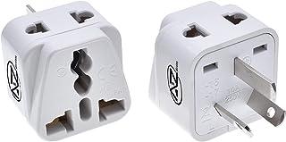 Multi Socket Universal Travel Adapter for Australia, New Zealand by A2ZWireless - Power Plug, US, UK, JP, CN, EU to AU/NZ ...