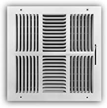 12 in. x 12 in. 4-Way Wall/Ceiling Register