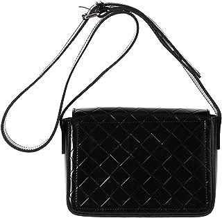 MINISO Fashionable Rhomboid Crossbody Bag (Black)