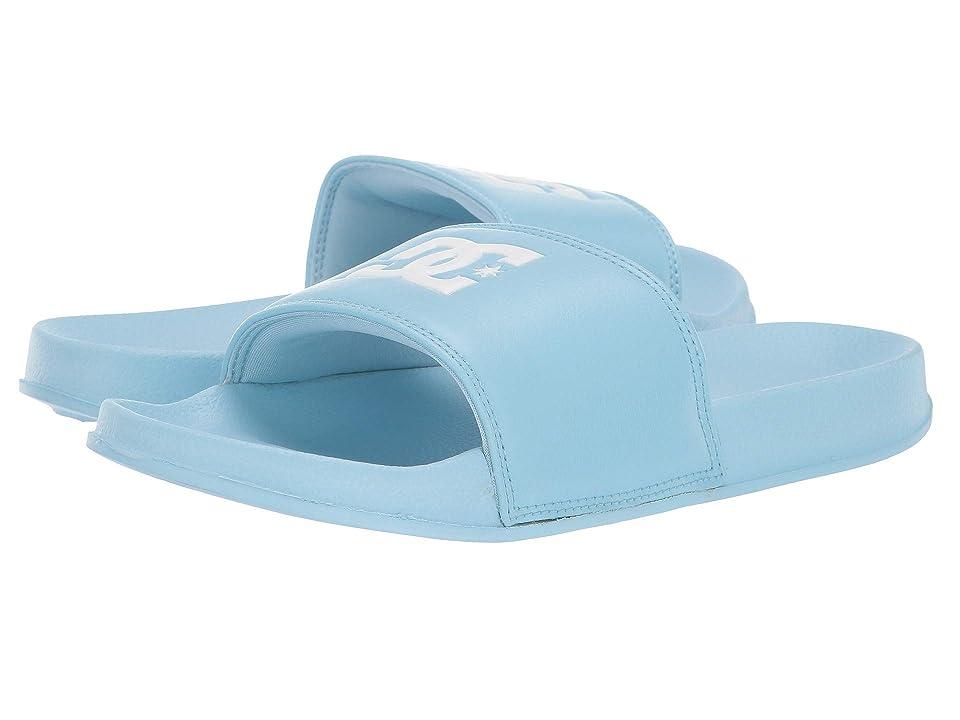 DC Kids DC Slide (Little Kid/Big Kid) (Powder Blue) Girls Shoes