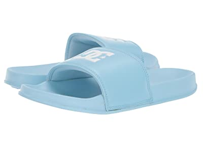 DC Kids DC Slide (Little Kid/Big Kid) (Powder Blue) Girls Shoes