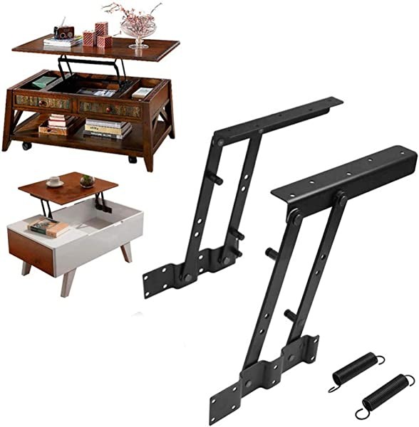 Ants Store 1Pair Multi Functional Lift Up Top Coffee Table Lifting Frame Mechanism Spring Hinge Hardware