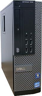 中古パソコン デスクトップ DELL OptiPlex 7010 SFF Core i7 3770 3.40GHz 4GBメモリ 250GB DVD-ROM Windows7 Pro 搭載 正規リカバリーディスク付属 動作保証30日間