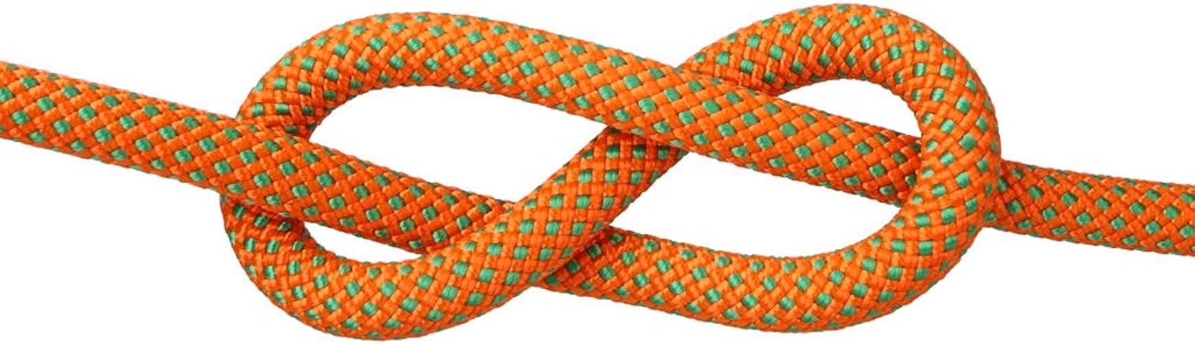 QARYYQ Corde d'escalade Corde d'escalade de Sauvetage Corde de Chute de Corde Spider-Man Vitesse différentes Tailles de Couleur en Option Cordes (Couleur   B, Taille   10.5mm 30m)
