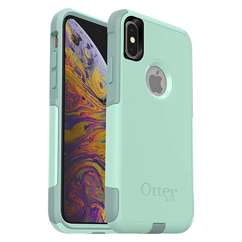 OtterBox COMMUTER SERIES Case for iPhone Xs & iPhone X - Frustration Free Packaging - OCEAN WAY (AQUA SAIL/AQUIFER)
