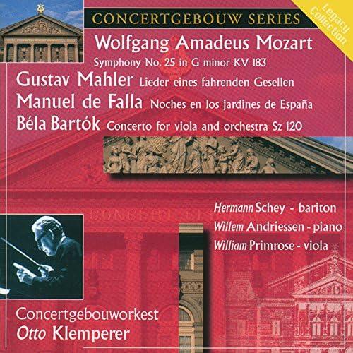 Concertgebouw Orchestra, Hermann Schey & William Primrose