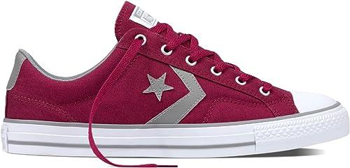Converse Herren Schuhe Chucks Chucks Chucks Chuck Taylor Star Player Ox Rot Turnschuhe Rot  Factory Outlet Store