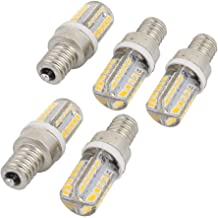 X-DREE 5Pcs E12 AC 220V 40 LEDs 2835SMD COB LED Silicone Corn Light Bulb Warm White (6ea9884a-a222-11e9-8d7c-4cedfbbbda4e)