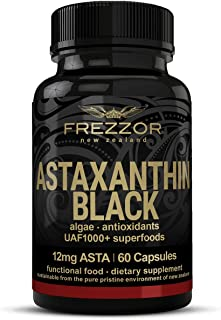 FREZZOR Astaxanthin 12mg, 60 Softgels - Made in New Zealand, Concentrated Antioxidant Carotenoid Supplement. Anti-Aging, S...