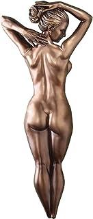 Design Toscano DB383055 Sculpture Murale beauté intemporelle, Bronze, 5 x 26,5 x 63,5 cm
