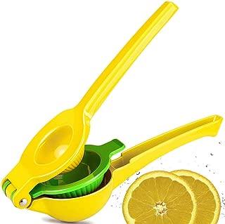 CMP Lemon Lime Squeezer, Top Rated Premium Quality Metal Manual Hand Citrus Press Juicer for Lemons Limes Citrus Fruit, No Pulp or Seeds, Dishwasher Safe