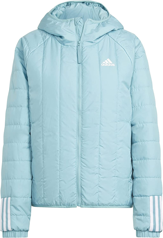 adidas Women's Standard Itavic 3-Stripes Light Hooded Jacket