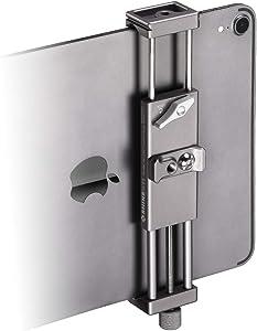 Metal iPad Holder for Tripod Mount, 1/4