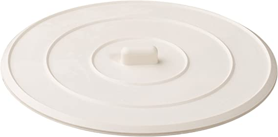 Sink Plug Prevents Water from Draining Shower /& Kitchen Sink Removable Drain Plug Cover for Drain Holes up to 3.5 // 90 mm Grey Universal Drain Stopper for Bathtub /Ø 5.1 inch // 13 cm Diameter