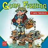2021 Gary Pattersons Gone Fishing 16-Month Wall Calendar
