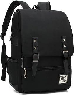 Japan Korean Style Backpack Daypack Laptop bag School Bag For Women Men/Teen Girls Boys (all black)