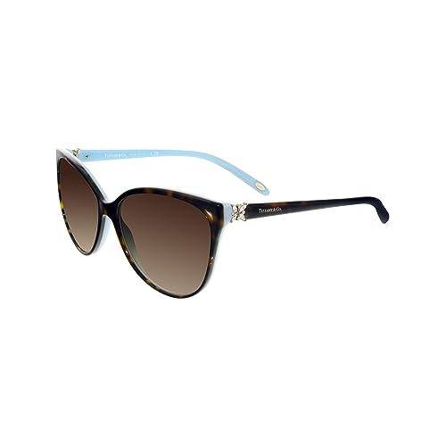 751c4318b632 Tiffany Sunglasses TF4089B Solid Black   Brown