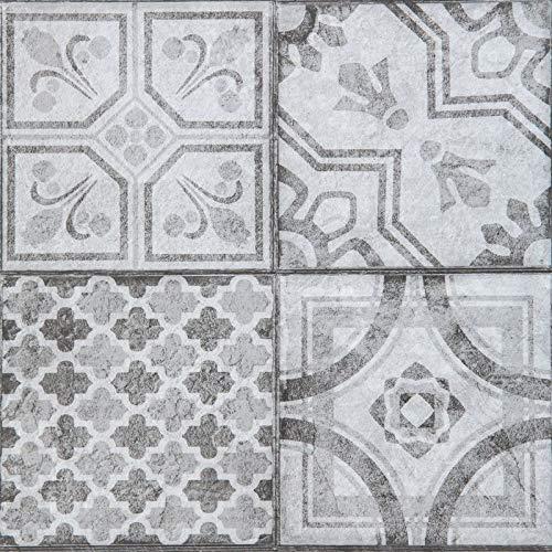 d-c-floor - Selbstklebende Bodenfliesen - Fliesenaufkleber für den Boden, Moroccan Style