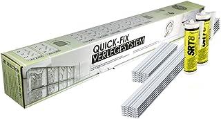 QUICK-FIX sistema para la colocación para 10 bloques de vidrio – tamaño 19x19x8 cm