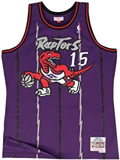 Mitchell & Ness Vince Carter Toronto Raptors NBA Throwback Jersey - Color Morado