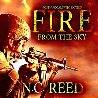 Fire from the Sky     The Sanders Saga              Written by:                                                                                                                                 N.C. Reed                               Narrated by:                                                                                                                                 Lee Alan                      Length: 17 hrs and 28 mins     1 rating     Overall 5.0