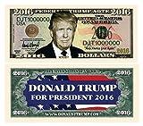 American Art Classics Donald Trump 2016 Presidential Dollar Bill in Currency Holder