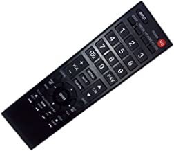 Best Replaced Remote Control Compatible for Toshiba 55G310U 19C1D 24L4200U 32L1350 40FT1U LED HDTV TV Review