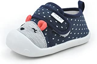 Baby Shoes Boys Girls First Walkers Cute Animals Toddler Sneakers Prewalkers Rubber Sole