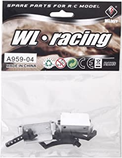 Original Wltoys A959 1/18 Rc Car Tail Wing Holder Set A959 04 Part Compatible with Wltoys RC Car Part (Wltoys A959 Tail Wi...