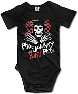 Misfits - Ride Johnny Ride Newborn Boys Girls Baby Onesie Clothes Short Sleeve