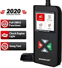$32 » Sponsored Ad - KINGBOLEN OBD2 Scanner YA-206 Code Reader,Car Engine Scan Tool with Full OBD2 Functions,Read and Clear DTCs...