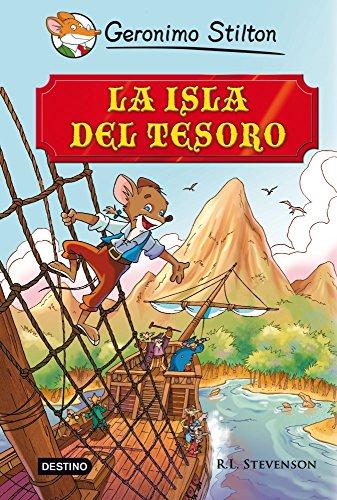 Stilton: la isla del tesoro (Grandes historias Stilton)