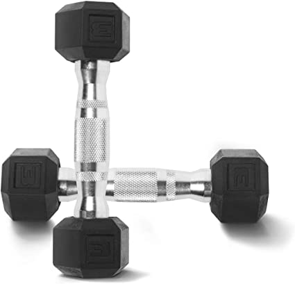 40LB FREE SHIP 30 15 25 NEW CAP COATED RUBBER HEX DUMBBELLS select-weight 10