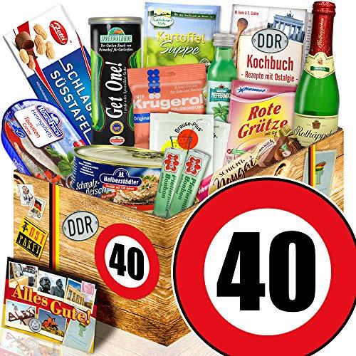 Spezial Geschenk / DDR Geschenk L / Geburtstag 40 / Geschenkset Mann
