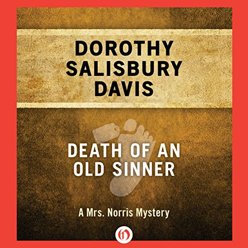 Death of an Old Sinner audiobook cover art