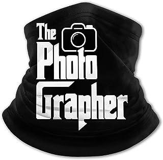 The Photographer - Pasamontañas para niños con protección UV para el cuello, resistente al viento, multifunción, para niño...