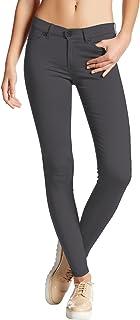 Hybrid Womens Hyper Ultra Stretch Comfy Skinny Pants
