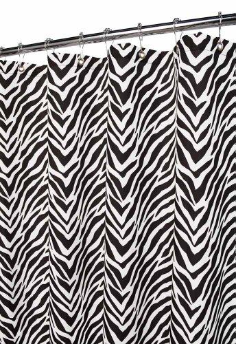 Zebra Shower Curtain by Park B. Smith