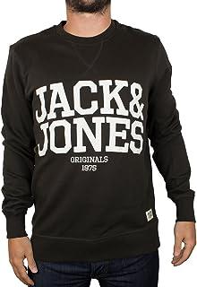 Jack and Jones Men's Mano Sweat Crew Neck Long Sleeve Sweatshirt