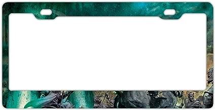 GRAETfpeoglsd Fashion Custom Personlized Metal License Plate Frame Solid Insert Car Auto Tag Holder