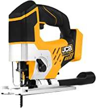 JCB Tools - JCB 20V Cordless Jigsaw Power Tool - No Battery - For Scrollwork, Curved Edges, Difficult Shapes - With LED Li...
