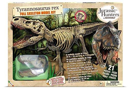 Italienische Sprache Geoworld CL432K Field Guide f/ür Jurassic Hunters